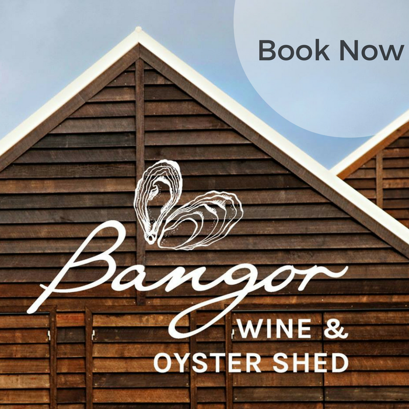 Bangor shed and Osborne Heli Tours